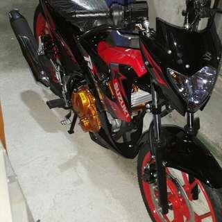 Brand new Suzuki Raider R150 Red