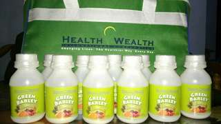 Authentic Green Barley from Health Wealth