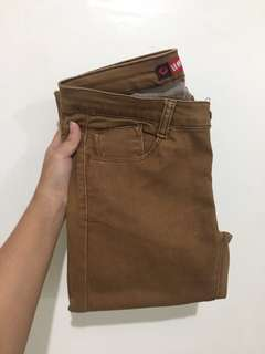 Hot Kiss Brown Skinny Jeans
