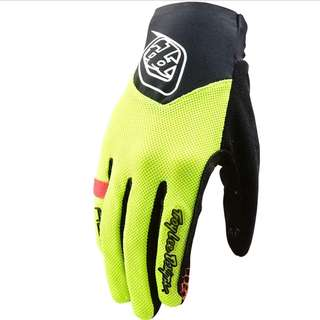 🆕! Troy Lee Designs Racing Yellow Full Finger Protective Gloves ( Touch Screen Compatible )   #OK  MTB / Fixie / Mountain Bike / Road Bike / Enduro / Downhill / Freeride / Bicycle / Bmx / Fat Bike / Escooter