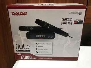 The platinum flute karaoke player