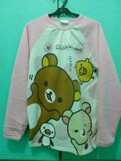 Rilakkuma baby pink sweater