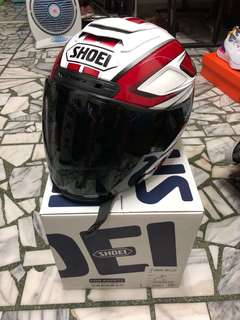 SHOEI J-Force 4 BRILLER 白紅 Cruise Size:L 已換墨片