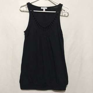 Cotton on black sleeveless top
