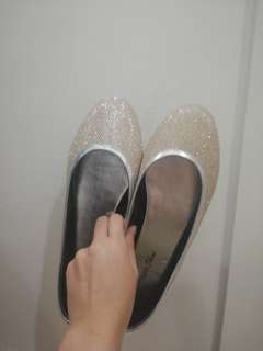 REPRICED!! Gold Shoes