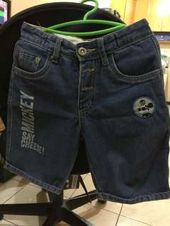 Mickey Mouse Maong Short