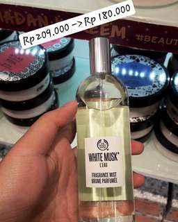Body Shop White Musk Mist