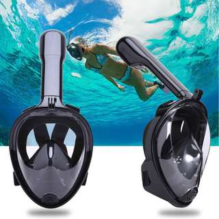 Easy Breathing Full Face Snorkeling Mask