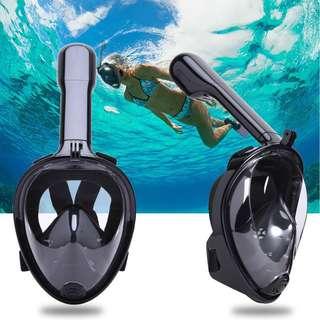 Easy Breathing Full Face Snorkeling Mask