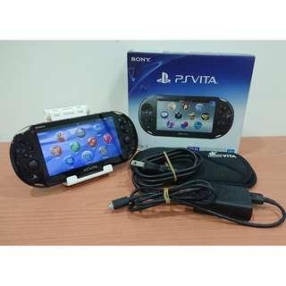 【PSV】索尼 SONY PS Vita 2007 黑 3.65版 完整盒裝 送保護套+8G記憶卡