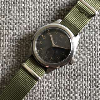 Vintage Cyma Dirty Dozen Military Watch
