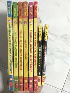 Geronimo Stilton - 8 books