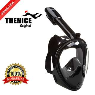 ORIGINAL THENICE M2096G Full Face Snorkeling Mask