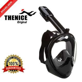 ORIGINAL THENICE M2096G Full Face Snorkeling Mask