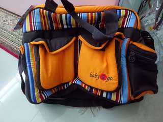 Baby 2 go Diapers Bag New
