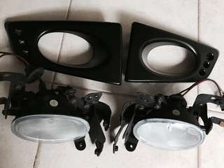 Honda Fit GE Fog lights assmbly
