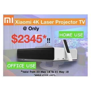 Projector Xiaomi Laser TV 4k Projector