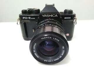 YASHICA ANALOG FX 3 SUPER (include lens)