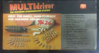MULTIdriver The superior screwdriving system