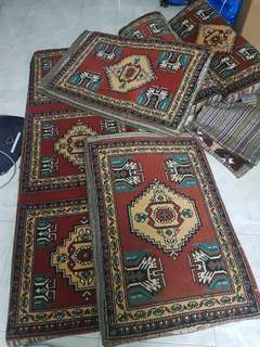 For blessing - Turkish floor cushion carpet (not for fussy)