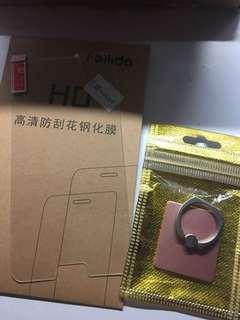 Samsung Note4 鋼化貼 I-Ring