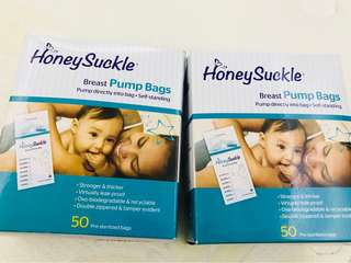 Honeysuckle Breast Pump bags and Breast Pump D'Adapter Bundle!