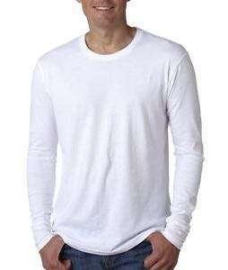 White Round Neck Long Sleeve SweatShirt