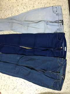 3 for RM50 P & Co, AD Jeans Authentic jeans
