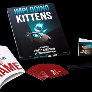IMPLODING KITTENS (Expansion of Exploding Kittens)