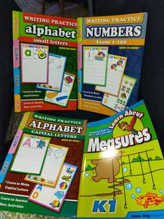Free - Practice Books - 4 to 5 years old