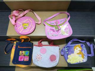 LITTLE GIRLS PURSE AND BAGS!RM10 for each