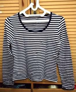 Stripes shirt (Kaos garis)