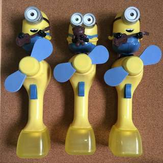 Minion Fan ( Battery Powered )
