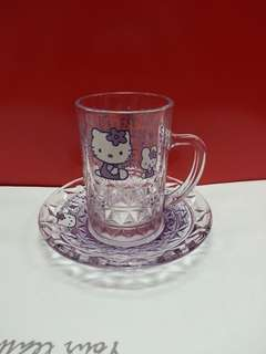 Hello Kitty 日版玻璃杯