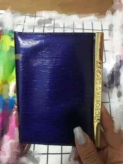 Victoria's Secret leather passport case
