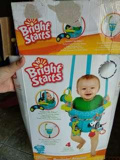 Brightstarts bouncin around bright starts bouncing around we go jumperoo bouncer