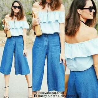 Off Shoulder Top & Pants Terno