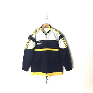 Puma Vintage Kids Full Zip Track Jacket Fits Girl xs