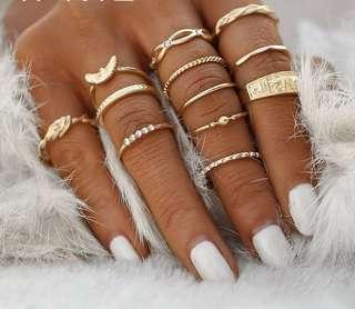 12 stacking rings