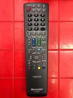 全新夏普電視通用遙控器(原廠正品)一個