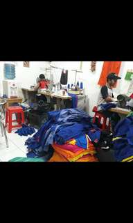 Custom jaket/hoodie/kaos/polo shirt