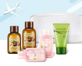 [NATURE REPUBLIC] Travel Mate All In One Kit 5 Items
