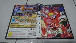 PS2火影忍者:木葉的忍者英雄們 3 NARUTO正版遊戲