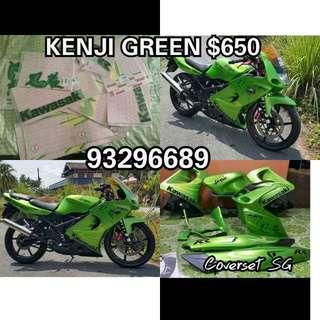 KRR Kenji Hijau / Green Full Original Coverset