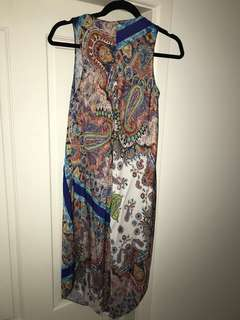 ZARA PATTERN MID LENGTH DRESS