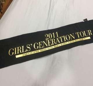SNSD 2011 concert towel