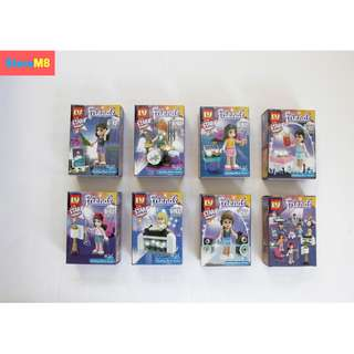 FRIENDS LEGO LIKE COLLECTION SET (8PCS)