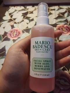Facial Spray With Aloe,  Herbs & Rosewater