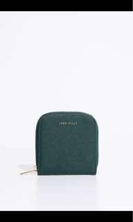 全新Jack wills zip purse wallet銀包