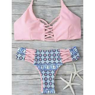 Push up Bikini set Padded Bandage